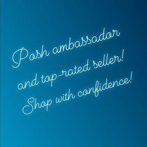 POSH AMBASSADOR & TOP RATED SELLER